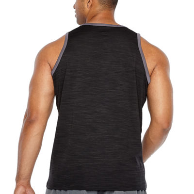 adidas 3g Heathered Tank Mens Round Neck Sleeveless Tank Top Big and Tall