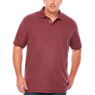 The foundry big tall supply co easy care short sleeve for Foundry men s polo shirts