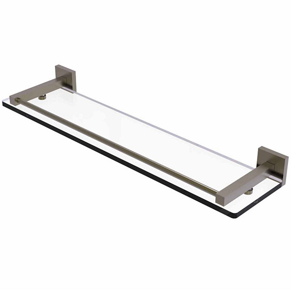 Allied Brass Montero Collection 22 IN Glass ShelfWith Gallery Rail