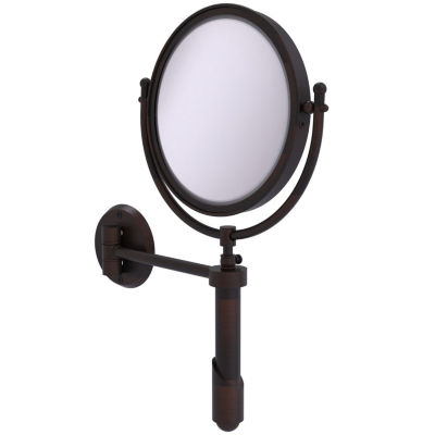 Allied Brass Soho Collection Wall Mounted Make-UpMirror 8 Inch Diameter With 3X Magnification