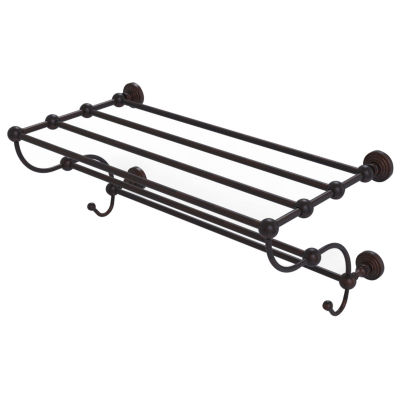 Allied Brass Waverly Place Collection 24 IN TrainRack Towel Shelf