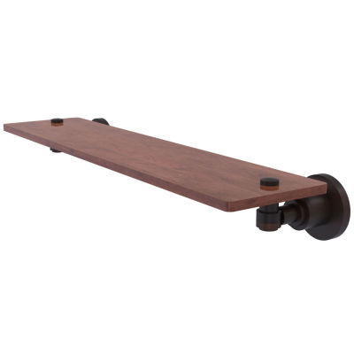 Allied Brass Washington Square Collection 22 IN Solid Ipe Ironwood Shelf