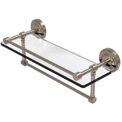 Allied Brass 16 IN Gallery Glass Shelf With TowelBar