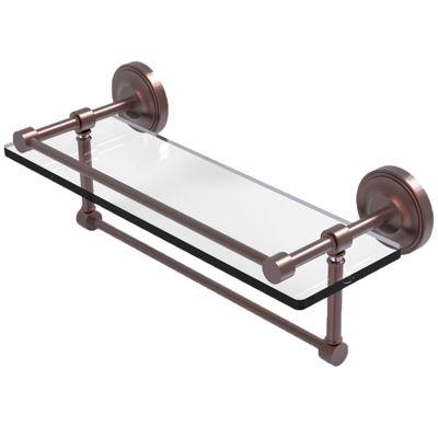 Allied Brass 16 IN Gallery Glass Shelf With TowelBar