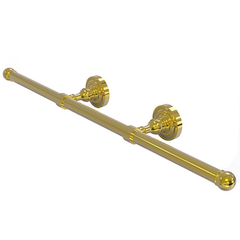 Allied Brass Dottingham Collection Wall Mounted Horizontal Guest Towel Holder