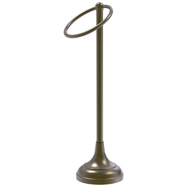 Allied Brass Vanity Top 1 Ring Guest Towel Holder
