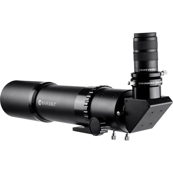 Barska Magnus 560X80Ed Glass Refractor Spotting Scope Black Ae12406