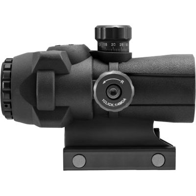 Barska 3X30Mm Arx-Pro Prism Riflescope; 1/4 Moa; Rubber Armored; Black Ac12692
