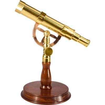 Barska 6x30mm Spyscope Anchormaster w/ Mahogany Desktop Pedestal