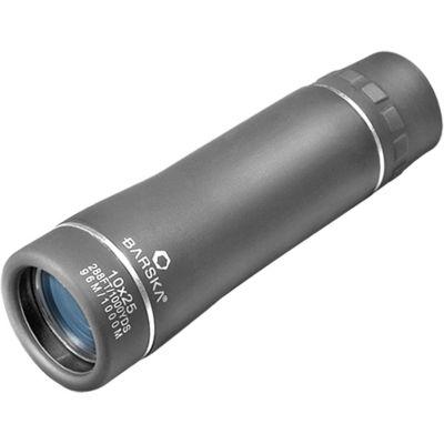 Barska 10X25 Lucid-View Pocket Roof Bk-7 Prism Monocular Camo - Clam Pack Aa10194