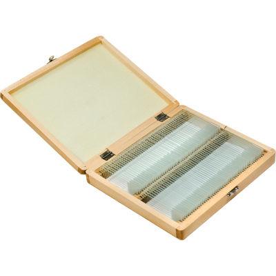 Barska Prepared Microscope Slides 100Pcs W Wood Case Na Af11944