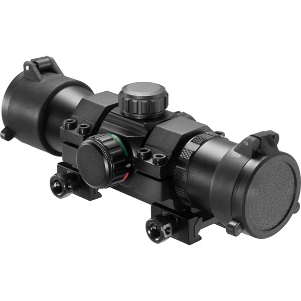 Barska 1x30mm Dual Color Green / Red Dot Scope w/Mount