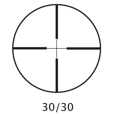 Barska 3-7x20mm Rimfire Scope