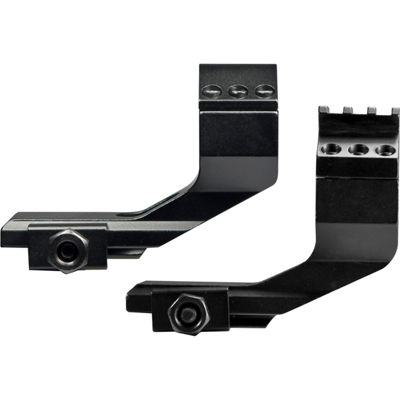 "Barska Pair of Cantilever Mount with integrated 30mm Rings and 1"" insert w/ Extra Rail top"