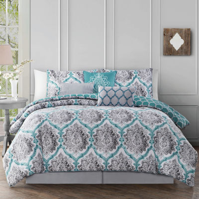Avondale Manor Notting 7-pc. Reversible Comforter Set