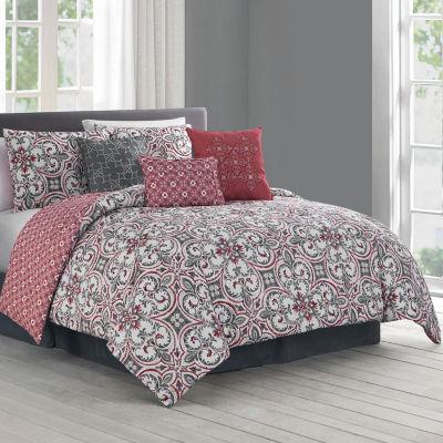 Avondale Manor Regan 7-pc. Reversible Comforter Set