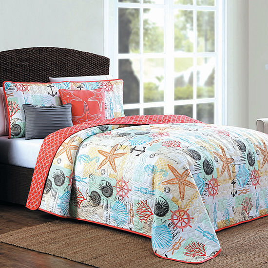 Avondale Manor Belize 5 Pc Reversible Quilt Set