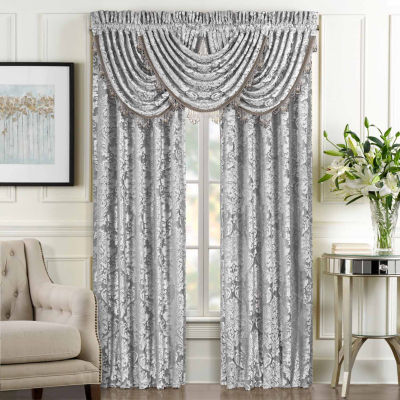 Queen Street Blair Rod-Pocket Curtain Panel