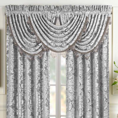 Queen Street Blair Rod-Pocket Tailored Valance