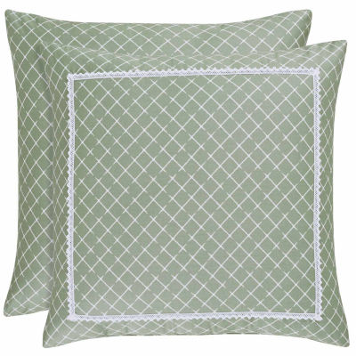 Queen Street Jenna 18IN Square Throw Pillow