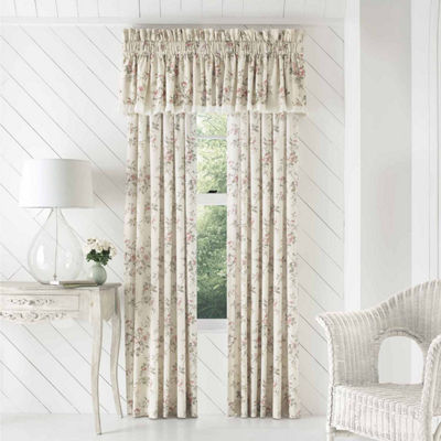 Queen Street Jenna Rod-Pocket Curtain Panel