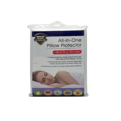 Levinsohn All In One Bed Block Zippered Pillow Protectors
