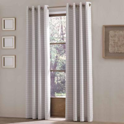 Queen Street Ellie Grommet-Top Curtain Panel