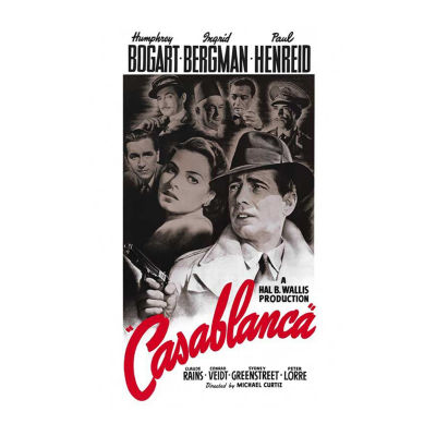 Casablanca (1956) Movie Poster Framed Wall Art