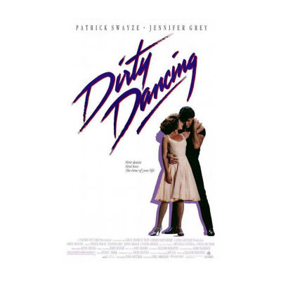 Dirty Dancing (1987) Movie Poster Framed Wall Art