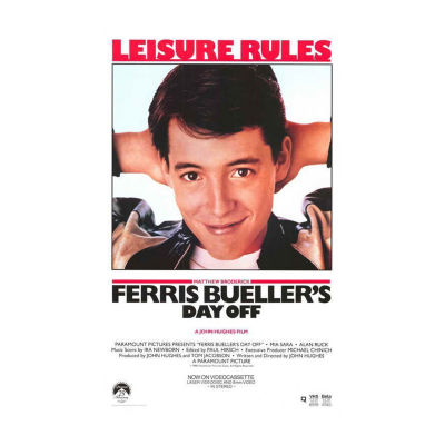 Ferris Bueller's Day Off (1986) Movie Poster Framed Wall Art