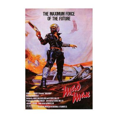 Mad Max (1980) Movie Poster Framed Wall Art