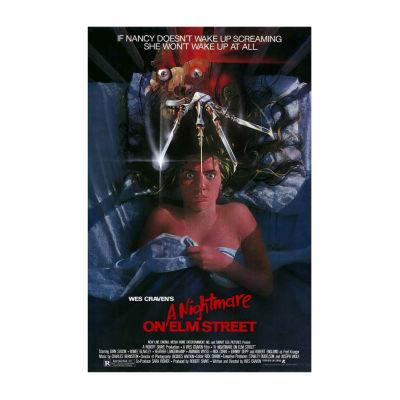 Nightmare on Elm Street; A (1984) Movie Poster Framed Wall Art