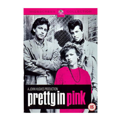 Pretty in Pink Movie Poster Framed Wall Art