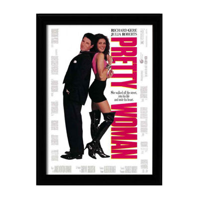 Pretty Woman (1990) Movie Poster Framed Wall Art