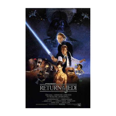 Return of the Jedi (1983) Movie Poster Framed WallArt