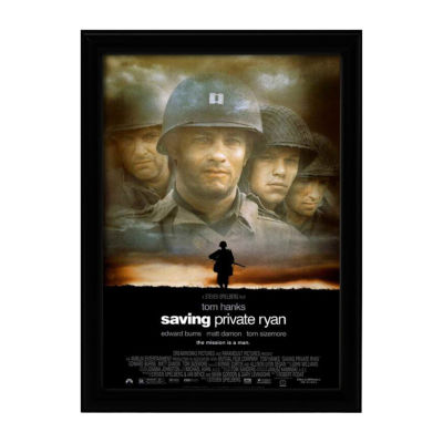 Saving Private Ryan (1998) Movie Poster Framed Wall Art
