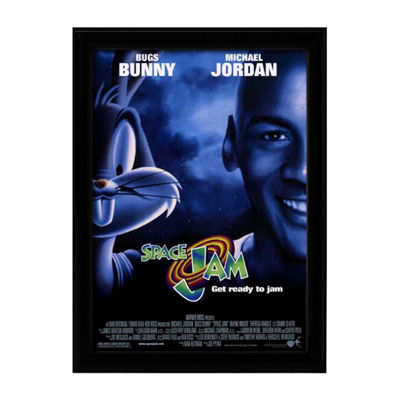 Space Jam (1996) Movie Poster Framed Wall Art
