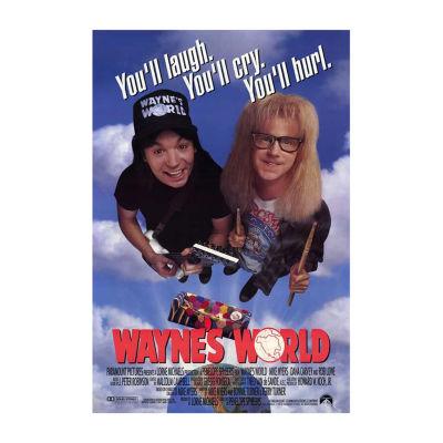 Wayne's World (1992) Movie Poster Framed Wall Art