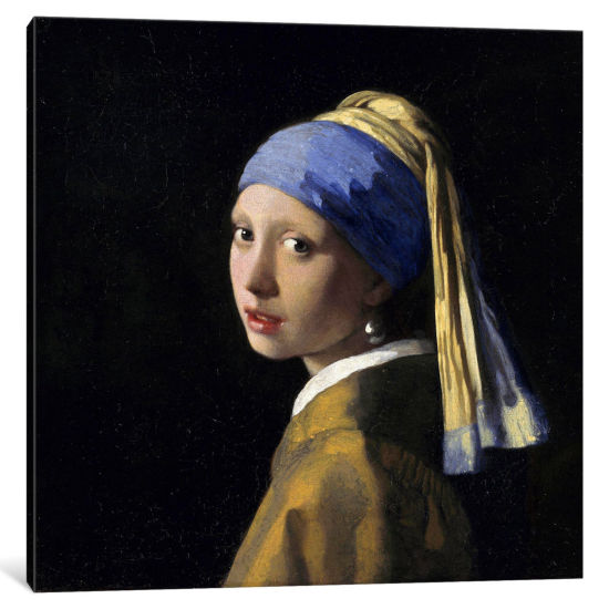 Girl with a Pearl Earring by Johannes Vermeer Canvas Print