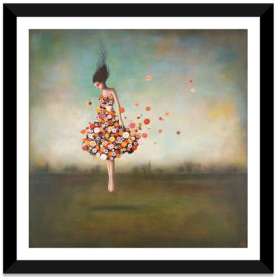Boundlessness in Bloom by Duy Huynh Black Framed Fine Art Paper Print