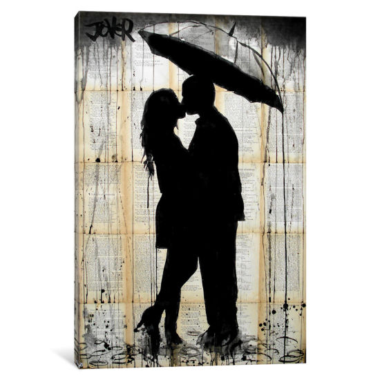 Rain Lovers by Loui Jover Canvas Print