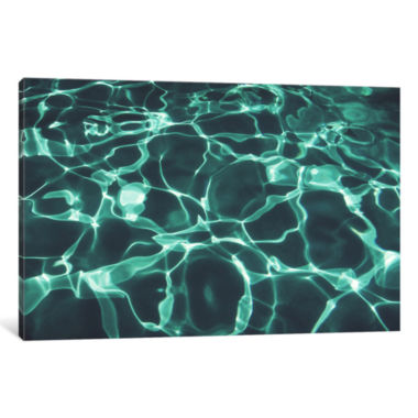 Pool Two by Lupen Grainne Canvas Print