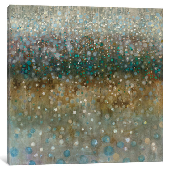 Abstract Rain by Danhui Nai Canvas Print