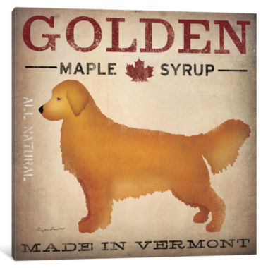 Golden Maple Syrup by Ryan Fowler Canvas Print