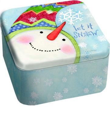 LANG Snowflakes 13.5 Oz Tin Candle (3101006)