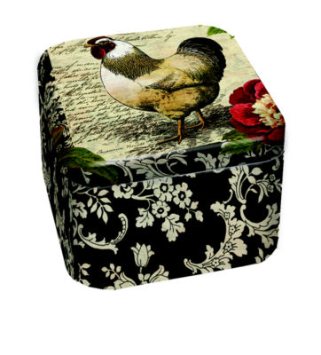 LANG French Rooster 9 Oz Tin Candle