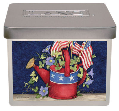LANG Old Glory Small Jar Candle - 12.5 Oz (3114012)