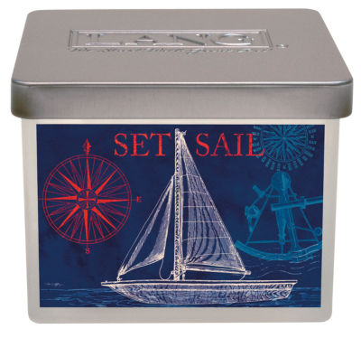 LANG Coastal Breeze Small Jar Candle - 12.5 Oz