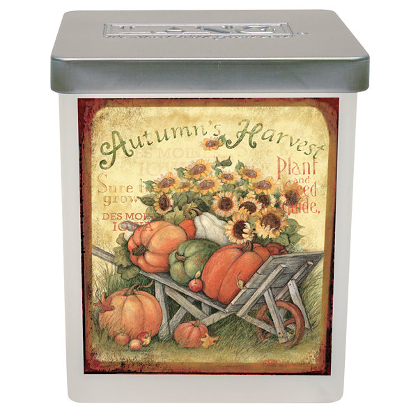 LANG Pumpkin Harvest Large Jar Candle - 23.5 Oz