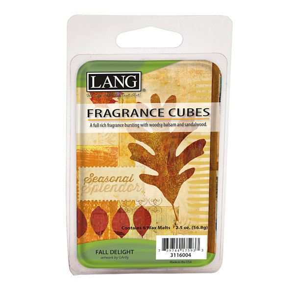 LANG Fall Delight 2.5 Oz Fragrance Cubes